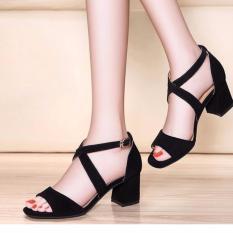 Giày cao gót 7 phân kiểu Hàn Quốc