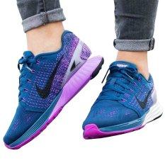 Bán Giay Chạy Bộ Nữ Nike Lunarglide 7 Xanh Người Bán Sỉ