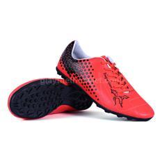 Hình ảnh giầy đinh đá bóng trẻ em Cuavu (đỏ cam)