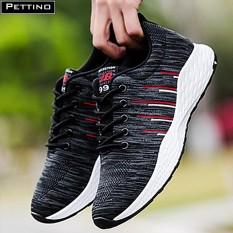 Bán Giay Nam Sneaker Cao Cấp Pettino P003 Xam Mới