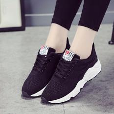 Bán Giay Nữ Sneaker Bomdo Bgtd318 Đen Rẻ Nhất