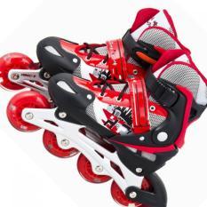 Giày Patin Long Feng 906 Đỏ đen chỉnh size S( 31 -34) , size M(34 đến 39) , size L(39 đến 42)