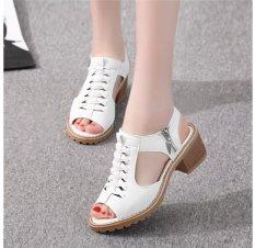 Giày sandal cá tính SD02T (Trắng)