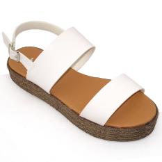 Giá Bán Giay Sandal Nữ Om Fashion 2956 Trắng Nguyên