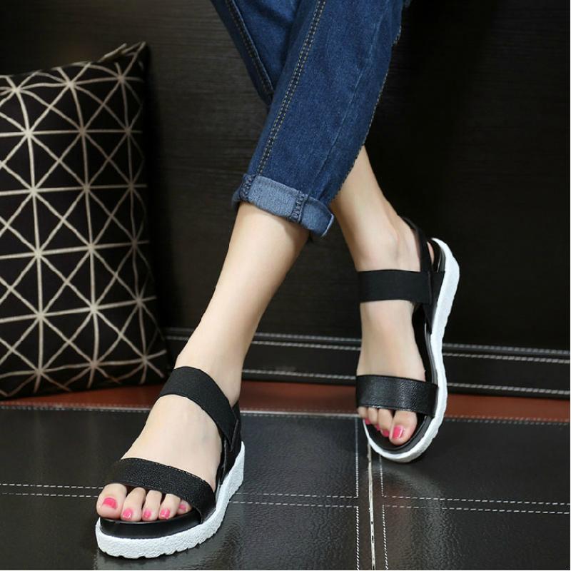 Giày Sandal quai ngang cá tính phong cách Hàn Quốc  - XS0208