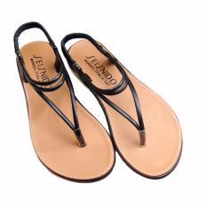 Mua Giay Sandals Thời Trang Gd31 Nau Đen Lopez Cute Rẻ