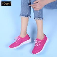 Ôn Tập Giay Sneaker Ca Tinh Osant Sn003 Hồng Mới Nhất