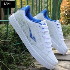 Mã Khuyến Mại Giay Sneaker Day Buộc Thể Thao Nam Zani Zn3368Wx Trắng Xanh Rẻ