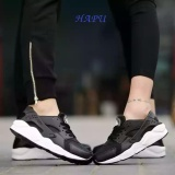 Giay Sneaker Nam Nữ Đế Sieu Em Nhẹ Hapu Hrc001 Đen Đế Trắng Rẻ