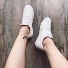 Bán Giay Sneaker Nam Nữ Giay Cong Sở Da Mềm Đế Em Trắng Có Thương Hiệu