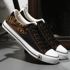 Giay Sneaker Nam Thấp Cổ Cv08 Đen Nguyên