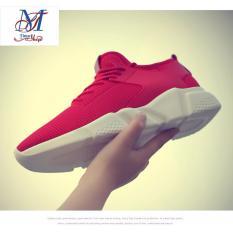 Ôn Tập Giay Sneaker Nam Thể Thao Dang Running Phom To Ưu Vận Động Sport 2017 Timashop26 Đỏ