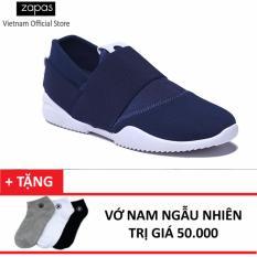 Mã Khuyến Mại Giay Sneaker Nam Thời Trang Zapas Gs065 Xanh Tặng Vớ Nam Ngẫu Nhien Zapas