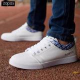 Ôn Tập Giay Sneaker Nam Thời Trang Zapas Gs066 Trắng