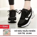Cửa Hàng Giay Sneaker Nữ Ca Tinh Bomdo Bgtd326 Đen Rẻ Nhất