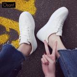 Ôn Tập Giay Sneaker Nữ Ca Tinh Osant Sn005 Trắng