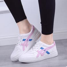 Bán Giay Sneaker Nữ Da Mềm Mịn Đế Cao 4Cm Msp 2843 Hồng None Rẻ