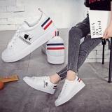 Mua Giay Sneaker Nữ Phong Cach Han Quốc Trắng Phối Đen Size 38 39 Mới Nhất