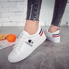 Giay Sneaker Nữ Phong Cach Han Quốc Trắng Size 37 38 Chiều Dai Chan 23Cm Th Chiết Khấu