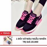 Bán Giay Sneaker Nữ Sieu Em Tặng Kem Với Xinh Xắn Bomdo Bgth330 Hồng Hồ Chí Minh Rẻ
