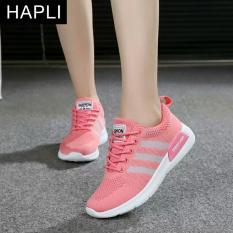 Hình ảnh Giày Sneaker nữ sọc chéo HAPLI- 3SC02