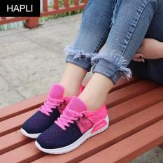 Cửa Hàng Giay Sneaker Nữ Tesxo 2 Mau Kết Hợp Hapli Xanh Hồng Rẻ Nhất