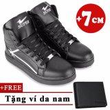 Ôn Tập Trên Giay Sneaker Tăng Chiều Cao 7Cm Tặng 1 Vi Da Nam Tinto 4402De