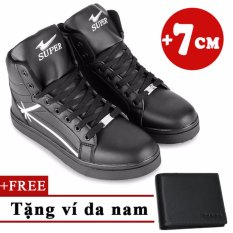 Chiết Khấu Giay Sneaker Tăng Chiều Cao 7Cm Tặng 1 Vi Da Nam Tinto 4402De Tinto