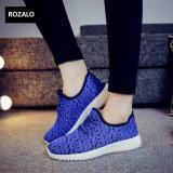 Bán Giay Sneaker Thể Thao Nữ Rozalo Rzw905626Xd Xanh Đen Rozalo