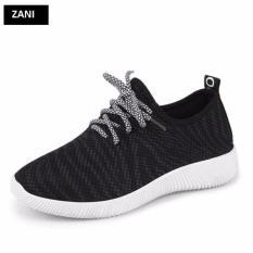 Giá Bán Giay Sneaker Thể Thao Nữ Zani Zn4207B Đen Zani Trực Tuyến