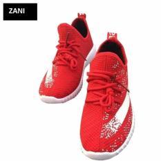 Mua Giay Sneaker Thể Thao Nữ Zani Zn5365R Đỏ Zani Rẻ