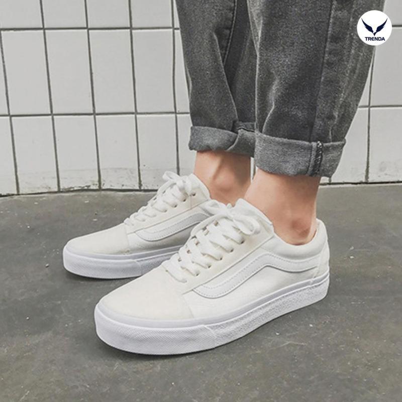 Giày Sneaker Thể Thao Thời Trang Cao Cấp Trenda - GD15 Đen