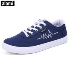 Mua Giầy Sneaker Thời Trang Nam Alami Gtt323 Xanh Rẻ