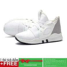 Ôn Tập Giay Sneaker Thời Trang Nam Cao Cấp Verygood Ms7 Mau Trắng Tặng Kem 1 Thẻ Tich Điểm Tại Trangstore