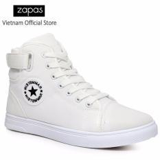 Giá Bán Giày Sneaker Thời Trang Nam Zapas Gs020 Trắng Nhãn Hiệu Zapas