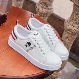 Giá Bán Giay Sneaker Thời Trang Nữ Doha Shop Sn005Td Trắng Phối Đỏ Trực Tuyến