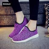 Giay Sneaker Thời Trang Nữ Rozalo Rw905626Vbl Tim Đen Rozalo Chiết Khấu 30