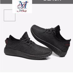 Chiết Khấu Sản Phẩm Giay Sneaker Thời Trang Nữ Sieu Nhẹ Runing Sport Tiện Lợi He 2017 Timashop26 Đen