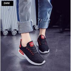 Giay Sneaker Thời Trang Nữ Zani Zn42301B Đen Zani Chiết Khấu 40