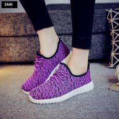 Bán Giay Sneaker Thời Trang Nữ Zani Zn905626V Tim Người Bán Sỉ
