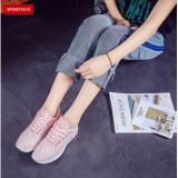 Giay Sneaker Thời Trang Thể Thao Nữ Sportmax Sw42301P Hồng Sportmax Chiết Khấu 40