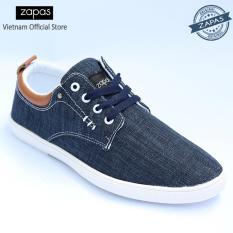 Ôn Tập Giay Sneaker Zapas Classcial Mau Xanh Gz011 Hang Phan Phối Chinh Thức