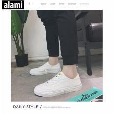 Giay Sneakers Nam Alami Gtt121 Trắng Thái Nguyên Chiết Khấu