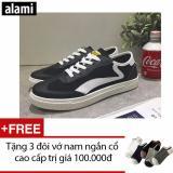 Ôn Tập Giay Sneakers Nam Alami Gtt122 Đen