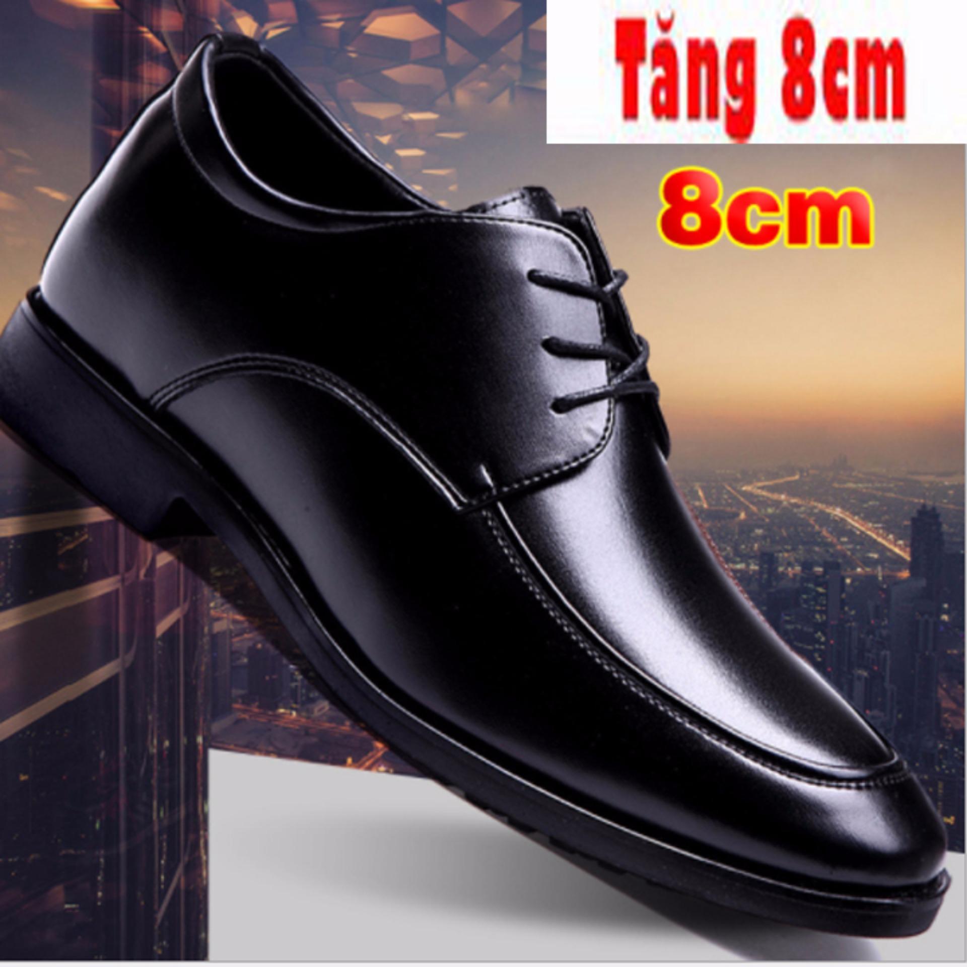 Giày Tăng Chiều Cao Nam 8Cm