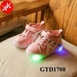 Giày thể thao bé gái đế đèn siêu nhẹ siêu êm chân