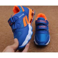 Bán Giay Thể Thao Cho Be Size 26 Đến 36 Fashion Sport Blue Lot Cam Có Thương Hiệu Rẻ