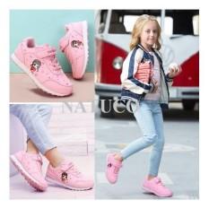 Hình ảnh Giày thể thao Hồng Kông cho bé gái đế chống trượt, thoáng khí ( mầu hồng phấn)