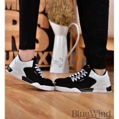 Mua Giay Thể Thao Nam Nữ Bluewind 6806Detr Đen Trắng Sneakerballs Rẻ