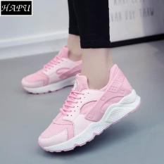 Giay Sneaker Nữ Đế Sieu Em Nhẹ Hapu Hrc002 Hồng Hapu Chiết Khấu 30